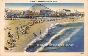 Scene Nantasket Beach, MA, USA Unused internal creases