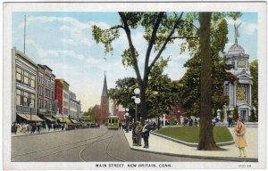 New Britain, Conn, Main Street