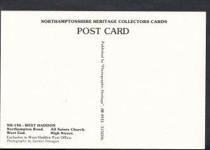Northamptonshire Postcard - Views of West Haddon    DD71