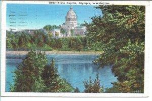 Olympia, WA - State Capitol - 1939