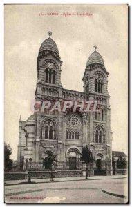 Old Postcard Nancy Du Sacre Coeur Church