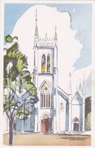 Sketch of church tower, 10-20s