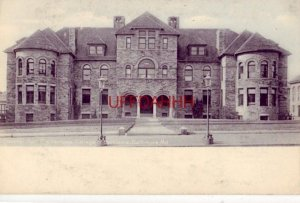 pre-1907 GOUCHER HALL, THE WOMANS COLLEGE OF BALTIMORE, MARYLAND