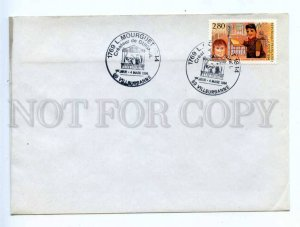 418143 FRANCE 1994 year L.Mourguet Puppets COVER