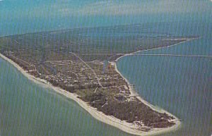 Florida Aerial View Of Sanibel Island 1970