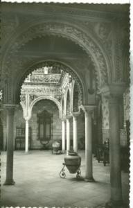 Spain, Sevilla, Patio andaluz unused Postcard