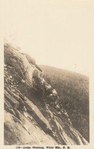 RP: WHITE Mts. , New Hampshire, 1910s ; Ledge Climbing