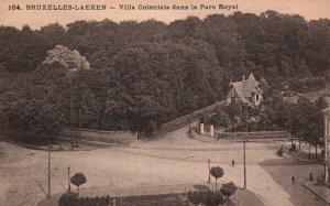 Villa Coloniale dans le Parc Royal,Brussels-Laken,Belgium BIN