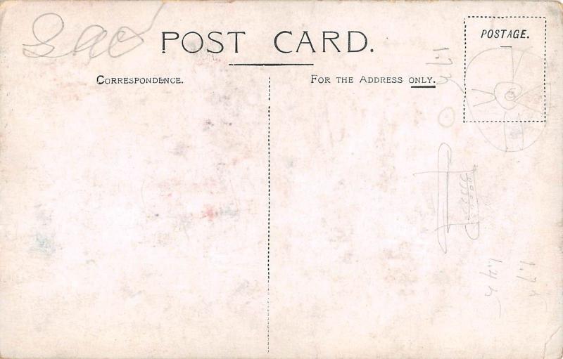 Algiers Algeria Cunarder Steam Ship Antique Postcard (J27969)