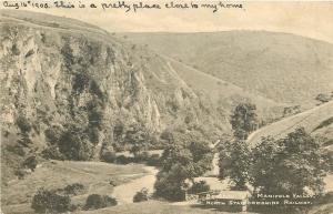 North Staffordshire~Breston Por~Manifold Valley Light Narrow Gauge Ry~RPPC 1905