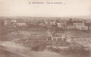BEYROUTH . Lebanon , 1910s ; Vue de Achrafie
