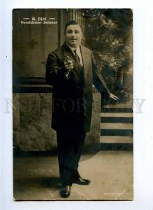194060 DIRI French impersonator CIRCUS Vintage photo PC