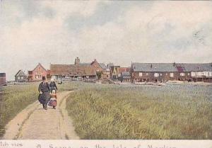 Netherlands Marken Town Scene