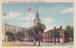 Independence Hall Chestnut Street Philadelphia Pennsylvania