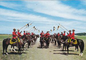 Canada Royal Canadian Mounted Police Troop Inspection