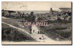Treport - Panorama taken of Mont Huon - Old Postcard