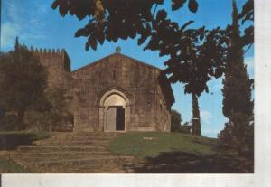 Postal 014162: Iglesia de San Miguel del Castillo en Guimaraes, Portugal