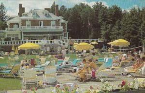 Massachusetts Lenox Eastover Resort Poolside Scene