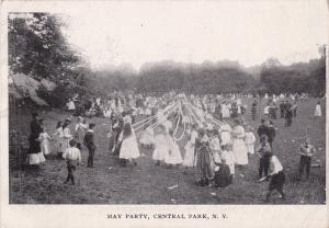 New York City, New York, 00-10s ; MAY PARTY , Central Park