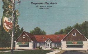 MONTREAL , Quebec , Canada , 1937 ;  Desjardins Sea Food