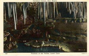 NM - Carlsbad Cavern, Fountain of the Fairies