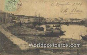 Haiphong, Song Tom Bac Tonkin Vietnam, Viet Nam 1904 Stamp & writing on front