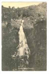 Waterfall, Sivlefossen, Stalheim, Norway, 1900-1910s