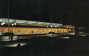 GREENVILLE , South Carolina , 50-60s ; Bob Jones University at Night