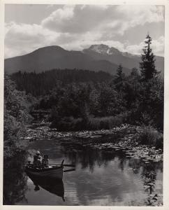 RP; Alta Lake, Rainbow Lodge , B.C. , Canada , 1910-30s
