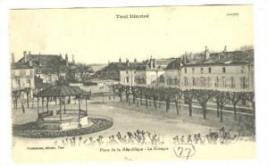 Place De La Republique, Le Kiosque, Toul (Meurthe-et-Moselle), France, 1900-1...