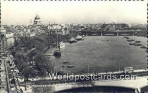 United Kingdom, UK, England, Great Britain Embankment & River Thames London  ...