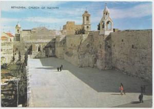Bethlehem, Church of Nativity, 1980 used Postcard