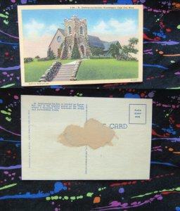 St. Andrews By The Sea, Hyannisport, Cape Cod, Massachusetts, Postcard, Chapel