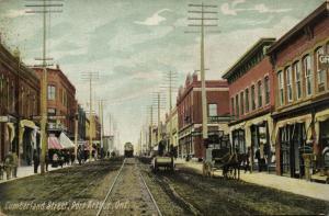 canada, PORT ARTHUR, Ontario, Cumberland Street (1910s)