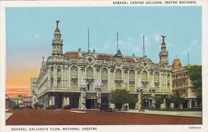 Cuba Havana Gallego's Club National Theatre