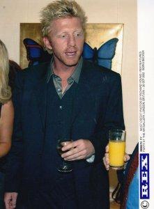 Boris Becker German Star at London Air Gallery Party 2004 Tennis Press Photo
