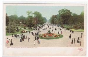 Central Avenue Belle Isle Park Detroit Michigan Detroit Publishing postcard