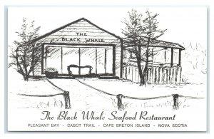 Postcard The Black Whale Seaford Restaurant, Nova Scotia Canada G58