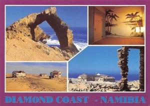 Namibia Diamond Coast Plage Promenade Beach General view