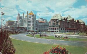 Atlantic City, NJ, Marlborough-Blenheim, 1951 Chrome Vintage Postcard f9760