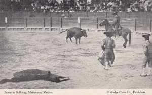 MATAMOROS , Mexico , 00-10s ; Scene in Bull-Ring