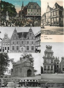 Netherlands Hoorn Museum and more Postcard Lot of 49 RPPC and Printed 01.04
