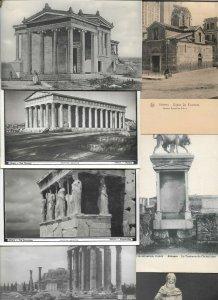 Greece Athens Parthenon Acropolis 18 Postcards Lot With RPPC  01.14