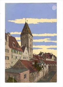 Ulm a. D., Metzgerturm , Germany , 00-10s