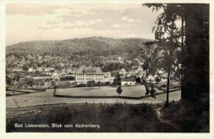Germany Bad Liebenstein Blick vom Aschenberg 02.60