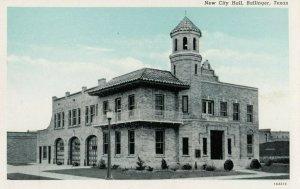 BALLINGER , Texas, 1910-20s; New City Hall