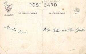 Santa Claus Post Card Old Antique Vintage Christmas Postcard Artist Ellen Cla...