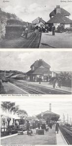 Lynton Barnstaple Railway Station 3x 1970s Vintage View Postcard s