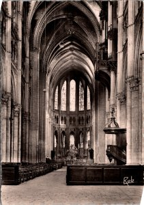 Reims France Cathedral Eure et Loir  Postcard unused 1960s
