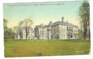 Exterior, Engineering and Chemistry Buildings, McGill University,  Montreal, ...